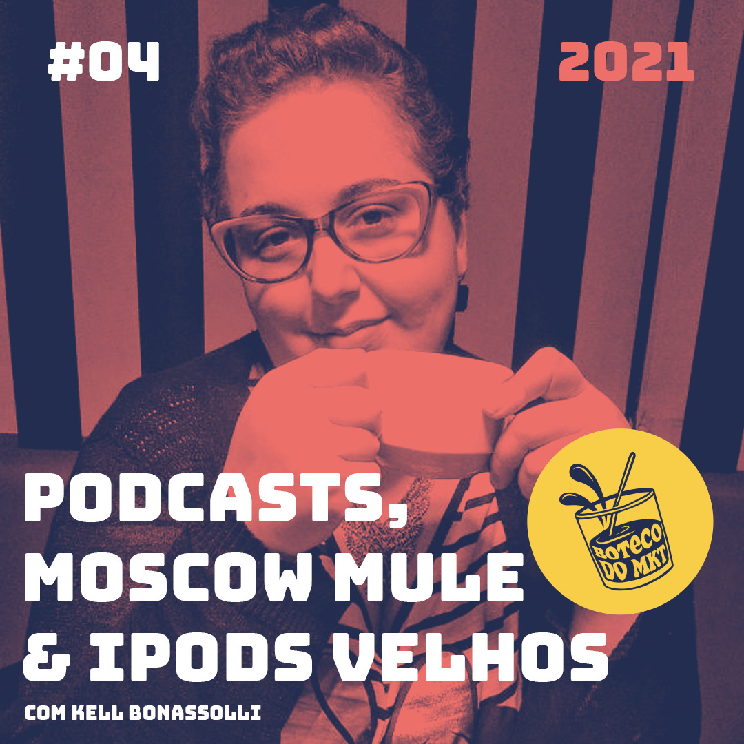 Podcasts, Moscow Mule & iPods Velhos